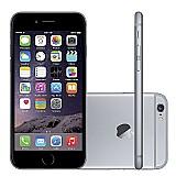 Iphone 6 16gb cinza espacial ios 8 4g wi-fi camera 8mp - apple ate 12x cartao