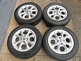 Fiat palio 500 25 anos roda aluminio original aro 14 pneu usado pirelli jogo p.fumagalli cpa mooca