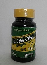Stjohns wort (erva de são) 90 caps (produto importado usa)