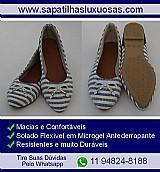 Sapatilhas femininas - atacado e varejo