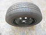Roda ferro original renault sandero aro 15 pneu usado goodyear usados estepe p.fumagalli cpa mooca