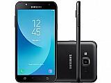 Smartphone samsung galaxy j7 neo 16gb dourado - dual chip 4g cam. 13mp tela 5,  5
