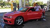 Camaro v6 vermelho ano 2015