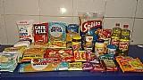 Cesta basica alimentos higiene e limpeza 44 itens