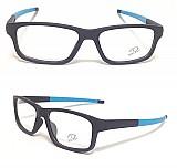 Armacao óculos de grau esportiva levissima resistente a suor
