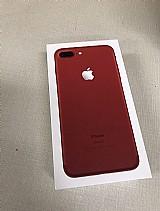 Novo apple iphone 7 plus 256gb vermelho desbloqueado com garantia da apple
