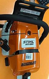 Motosserra stihl ms 660 -gasolina - nova - garantia - original