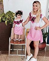 Kit vestidos mullet mae e filha / www.looksafir.com.br