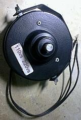 Base giratoria para globo de iluminacao. usado.
