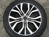 Outlander mitsubishi roda original aluminio aro 18 pneu usado p.fumagalli cpa mooca