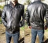 Jaquetas de couro sintetico