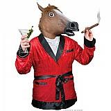 Mascara cabeca de cavalo de latex