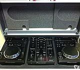 Kit 2 cdj 350 pioneer   mixer djm 350 pioneer