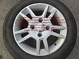 Fiesta trail roda original aluminio ford pneu usado pirelli p.fumagalli cpa mooca