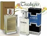 Perfume hinode traducoes gold n° 02 - kouros - 100 ml - masculino