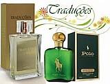 Perfume hinode traducoes gold n° 03 - polo - 100 ml - masculino