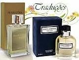 Perfume hinode traducoes gold n° 04 dolce e gabbana 100 ml  masculino