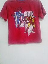 Camiseta herois marvel,  tam.2 ao 10,  menino