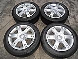 Chevrolet vectra elegance jogo rodas originais aro 16 aluminio pneu usado pirelli 205/55r16 p.fumagalli cpa mooca