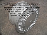 Roda original aluminio ford del rey ghia aro 14 scala p.fumagalli cpa mooca