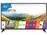 "Smart tv led 49"" lg full hd  - conversor digital 1 usb 2 hdmi"
