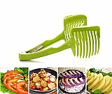 Portatil multifuncional fatiador de frutas e vegetais de cozinha criativa lemon orange cortador bolo utensilio de cozinha clipe