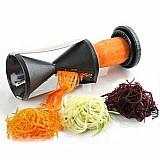 Cortador de legumes e vegetais espiral