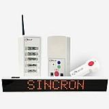 Sistema de chamada hospitalar wireless