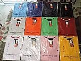 Kit 50 camisas peruanas camisetas masculinas atacado