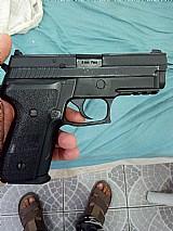 Pistola sig sauer p229 full metal a gás ou ttrrooccoo