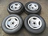 Ford ranger jogo rodas pneus usados aro 14 p.fumagalli cpa mooca