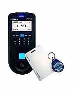 Controlador biométrico de acesso com sensor ótico 500 dpi