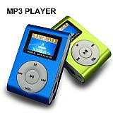 Mini mp3 player fm shuflle clip   entrada micro sd ate 4gb