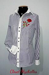 Lindissima camisa feminina social