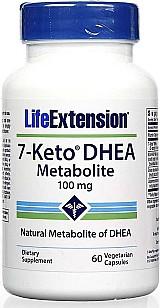 7-keto dhea 100mg 60 capsulas vegetarianas life extension