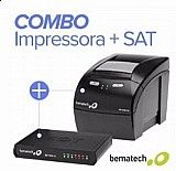 Combo impressora bematech mp-100 th   sat fiscal rb-1000 fi