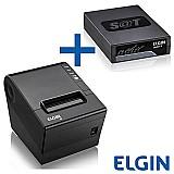 Combo sat fiscal elgin linker 2   impressora termica i9 usb