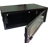 Mini-rack padrao 19´´ 3u/330mm preto
