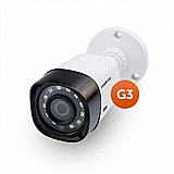 Câmera hd 720p - 80mts- 72 leds- 16mm- ahd- ip66 - tubular gs hd 80 t