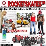 Patins rocketskate r5 eletrico vermelho novo no brasil frete gratis