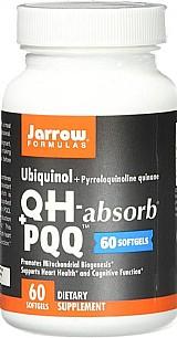 Ubiquinol,  qh pqq,  60 softgels,  jarrow formulas