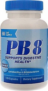 Pb8 acidofilo probiotico 120 capsulas nutrition now