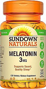 Melatonina 3mg 120 comprimidos sundown