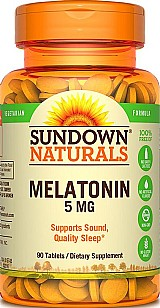 Melatonina 5mg 90 comprimidos sundown