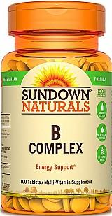 Complexo b 100 comprimidos sundown naturals