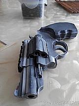 Revolver 357 papel - brinquedo magnum cano curto