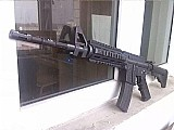 Fuzil swat m4a1 carbine papel - brinquedo