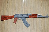 Fuzil ak 47 tactical usa papel - brinquedo