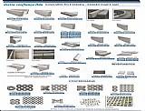 Pisos intertravados e outros arte fatos de cimento
