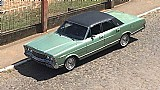 Ford galaxie  landau- verde piscina - 1981